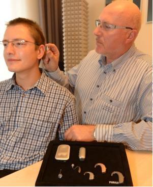 Anpassung der Hörsysteme